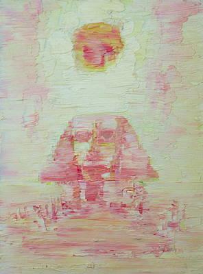 The Pink Sphinx Original by Fabrizio Cassetta