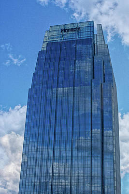 Photograph - The Pinnacle Building by Robert Hebert