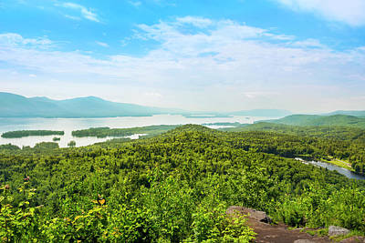 Edgecomb Photograph - The Pinnacle View Of Lake George by Christina Rollo