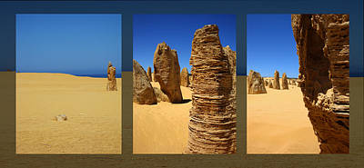 Kelly Jones Photograph - The Pinnacles Dessert - Australia by Kelly Jones