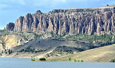 Photograph - The Pinnacles In Colorado by Amy McDaniel