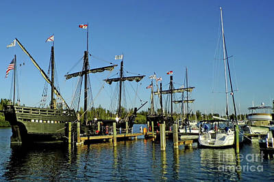 Photograph - The Pinta And The Nina by D Hackett
