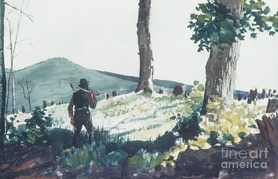 Painting - The Pioneer, 1900  by Winslow Homer