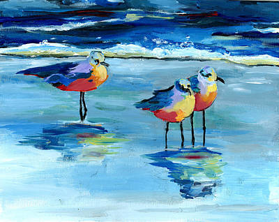Painting - The Pipers by Debbie Brown