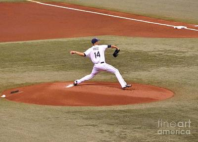 Photograph - The Pitch - David Price by John Black