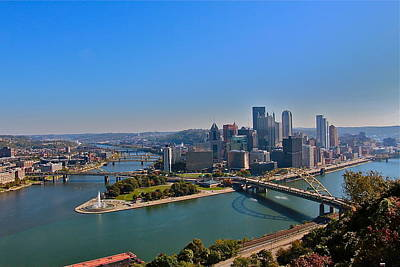 Photograph - The Pittsburgh Point by Denise Mazzocco