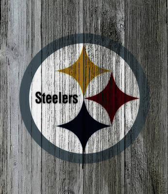 Big Ben Mixed Media - The Pittsburgh Steelers C3 by Brian Reaves