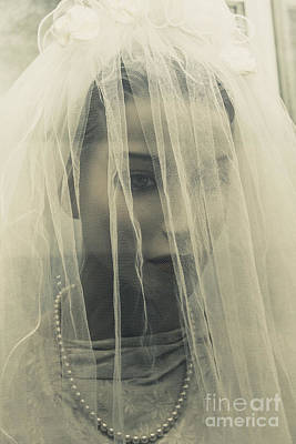 The Plastic Bride Art Print