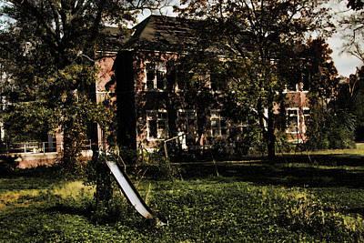 Photograph - The Play Yard by Kristia Adams