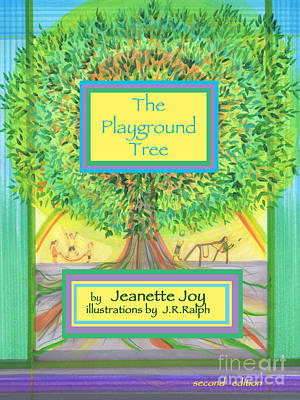Nature Study Mixed Media - The Playground Tree by Jeanette Joy