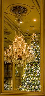 Photograph - The Plaza Hotel Lobby by Betsy Foster Breen
