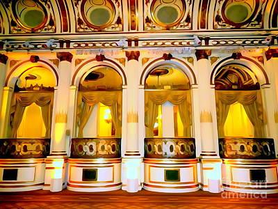 Digital Art - The Plaza Hotel's Grand Ballroom by Ed Weidman