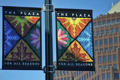 The Plaza Art Print by Joan Bertucci