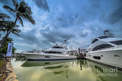 Photograph - The Pleasure Craft's by Rene Triay Photography