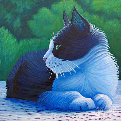 The Pleasure Of Her Company Art Print by Brian  Commerford