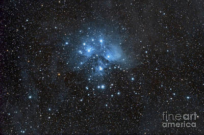 The Pleiades, Also Known As The Seven Art Print by John Davis