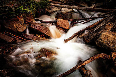 Photograph - The Plunge Pool by TL Mair