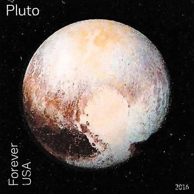 The Pluto Art Print