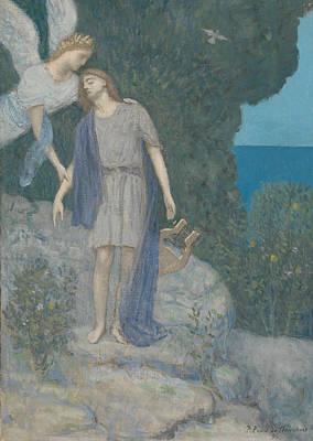Painting - The Poet by Pierre Puvis de Chavannes