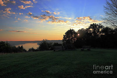 Photograph - The Point At Sunrise by Melissa  Mim Rieman