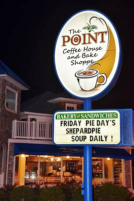 Photograph - The Point Coffee House by Kim Bemis