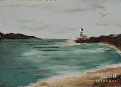Painting - The Point by Valarie Pacheco