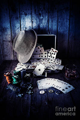 Poker Photograph - The Poker Ace by Jorgo Photography - Wall Art Gallery