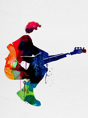 The Police Watercolor Art Print