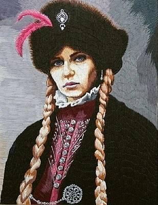 The Polish Countess Art Print by Irina Melenchuk