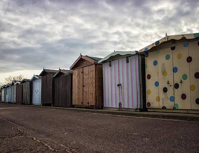 Beachfront Photograph - The Polka Dot Hut by Martin Newman