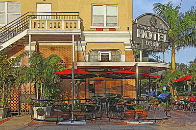 Photograph - The Ponce De Leon Hotel by HH Photography of Florida