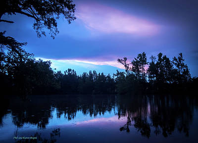 Photograph - The Pond After The Storm by Philip Rispin