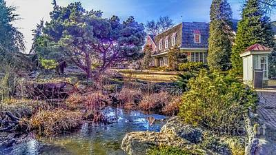 Photograph - The Pond At Peddler's Village by Christopher Lotito