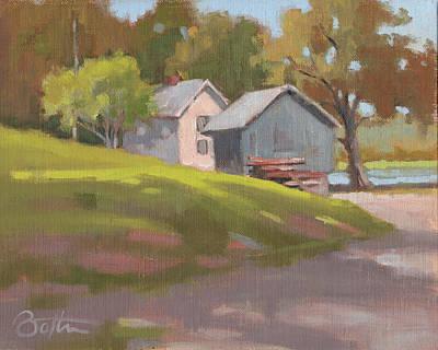 Painting - The Pond by Todd Baxter