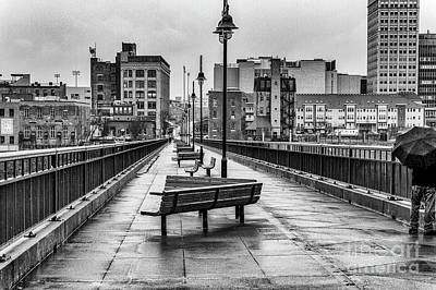 Photograph - The Pont De Rennes Pedestrian Bridge by William Norton