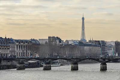 Photograph - The Pont Des Arts In Paris by Dutourdumonde Photography