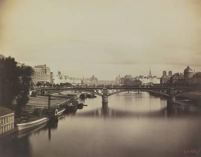 The Pont Du Carrousel  Art Print