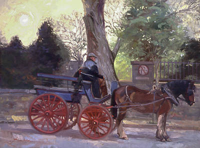 Painting - The Pony Trappe by Betty Jean Billups
