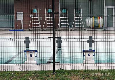 Photograph - The Pool Is Closed by Ethna Gillespie