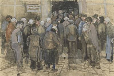 Painting - The Poor And Money The Hague, September - October 1882 Vincent Van Gogh 1853  1890 by Artistic Panda