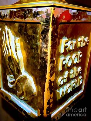 Photograph - The Poor Box by Ed Weidman