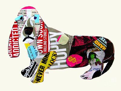 Painting - The Pop Art Dachshund by Bri B