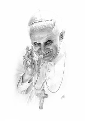 The Pope Art Print by Christian Klute