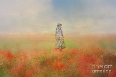 Photograph - The Poppy Field by Elaine Teague
