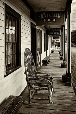 Photograph - The Porch - 365-202 by Inge Riis McDonald
