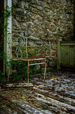 Photograph - The Porch II by Debra Fedchin