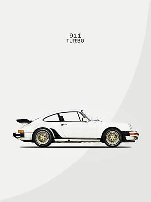 Porsche 911 Photograph - The Porsche 911 Turbo by Mark Rogan