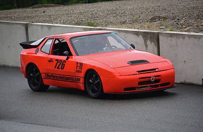 Speed Trials Photograph - The Porsche Experts by Mike Martin