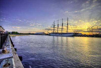 Sebastian Florida Photograph - The Port Of Pensacola by JC Findley