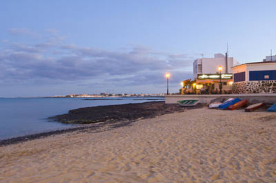 Corralejo Photograph - The Port Of The Town by Maremagnum